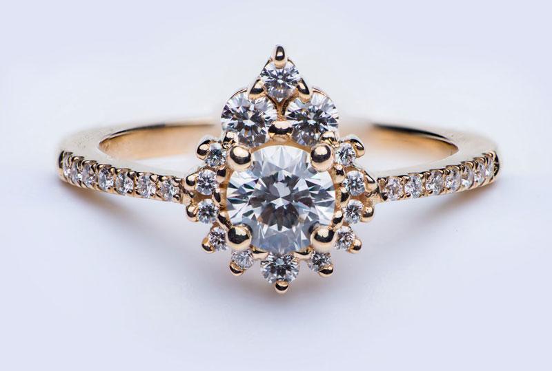 Custom Engagement Ring | Miriam de Langley Jewellery